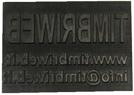 Gomma timbro JustRite 105PL - 63x124mm