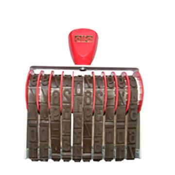 Numeratore manuale - 25mm / 10 colonne