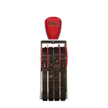 Numeratore manuale - 25mm / 4 colonne