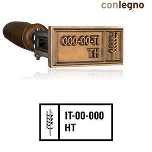 Timbro a Fuoco FITOK - 42x65mm