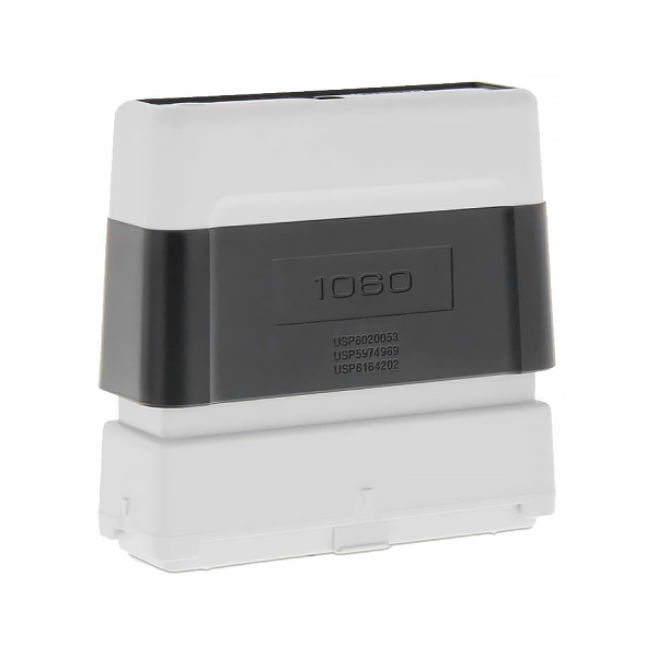 Timbro Brother 1060 Pre-Inked - 10x60mm