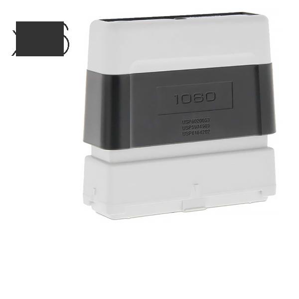 Timbro Brother 1060 Pre-Inked - confezione x6