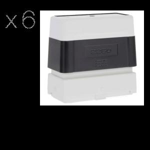 Timbro Brother 2260 Pre-Inked - confezione x6