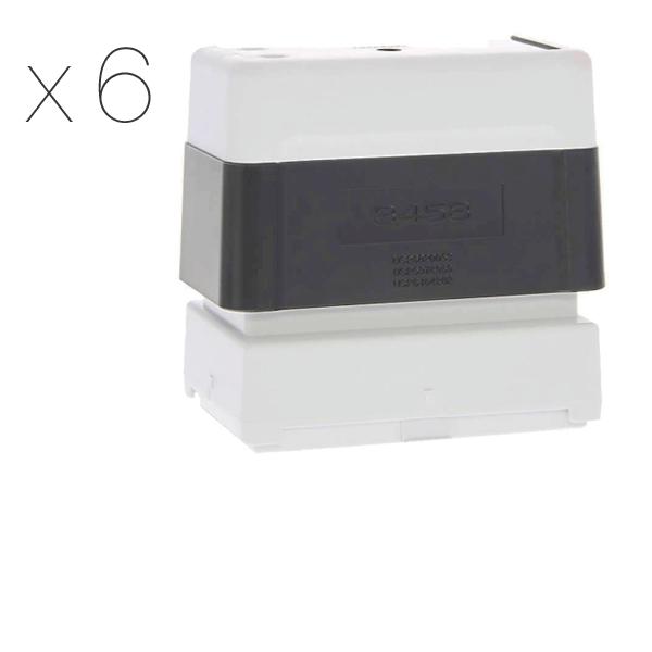 Timbro Brother 3458 Pre-Inked - confezione x6