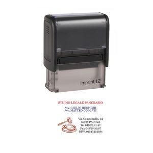 Timbro Imprint 12 - 18x47mm