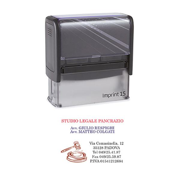Timbro Imprint 15 - 25x70mm