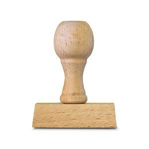 Timbro in Legno - 40x60mm