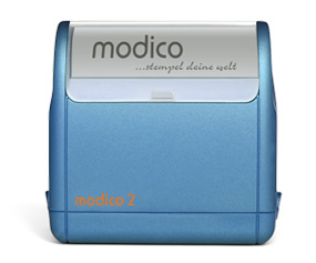 Timbro Modico 2 Pre-Inked - 14x40mm