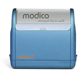 Timbro Modico 3 Pre-Inked - 18x52mm