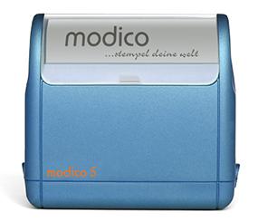 Timbro Modico 5 Pre-Inked - 28x68mm