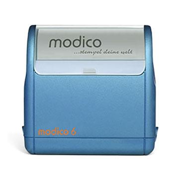 Timbro Modico 6 - 36x66mm